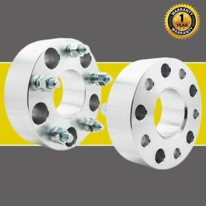 2 2 Inch Wheel Spacers Adapters 5x5 1 2 x20 For Jeep Wrangler Grand Cherokee