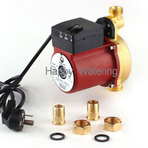 120w Automatic Hot Water Circulation Pump Booste Brass Body Water Pump 220v