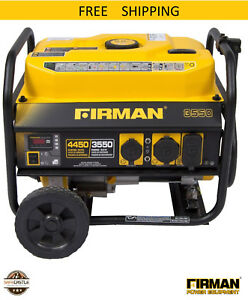 Firman Power Equipment P03501 Gas powered Performance Series Portable Generator
