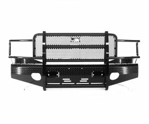 Ranch Hand Fsd061bl1 Summit Series Blk Front Bumper For 06 09 Dodge Ram 1500