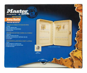 Master Lock Key Cabinet Steel Beige Boxed
