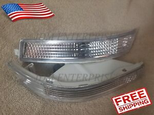 Toyota Corolla 1993 1997 Ae100 Ae101 Jdm Bumper Lights Turn Signal Clear Pair