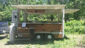 Food Trailer 8 X 10 With 3 2 Foot Awnings