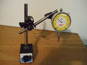 Machine Tools Heavy Duty Magnetic Holder And Dial Indicator New
