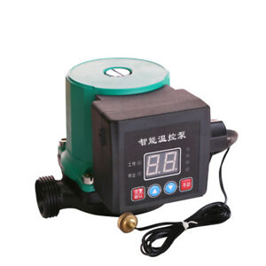 1 285w Hot Water Circulation Pump Intelligent Temperature Control Booster Pump