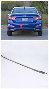 Rear Tail Gate Molding Cover Trim 1pcs For Hyundai Accent Solaris Verna 18 19