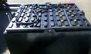 2014 24 85 29 48 Volt Crown Forklift Battery Tested Serviced
