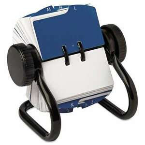 Rolodex Open Rotary Card File Holds 250 1 3 4 X 3 1 4 Cards 071912667001 Lot X2