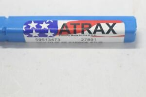Lot Of 6 Atrax Square End Mill Carbide 1 4 X 1 4 2 Flute 59513473