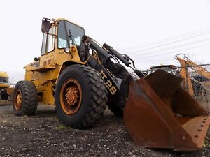 1986 Cat It28b Wheel Loader Caterpillar Integrated Tool Carrier