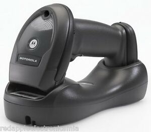 New Zebra Symbol Li4278 Wireless Barcode Scanner With Cradle And Usb Cable