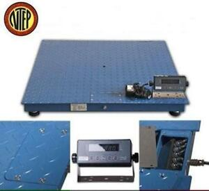 5000 Lbs Ntep Industrial Floor Scale Legal Trade 4 X 4 1 Lb Accuracy Free Ship