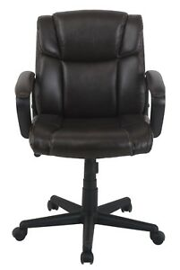 Vinmax Executive Task Chair Mid back Pu Leather Office Chair