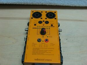 Velleman Vttest15 Audio video Multi Cable Tester 10 Cable Testings wow