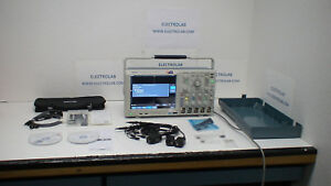 Tektronix Mso4054b 500 Mhz 2 5 Gs 20 Mp 4 Analog 16 Digital Ch Oscilloscope