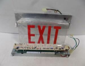 Chloride Emergency Exit Sign Stelxw1rc3