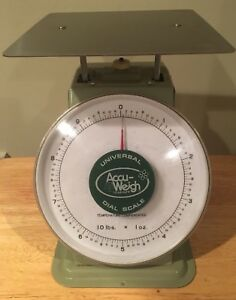 10lb X 1 Oz Accu weigh Yamato Mechanical Dial Scale M 10 Msrp 299 99