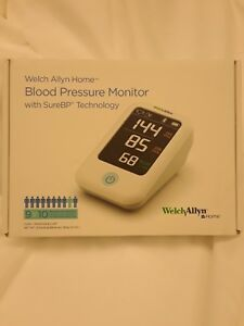 Welch Allyn Home Blood Pressure Monitor With Surebp Technology H bp100sbp m