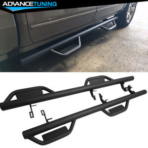 Fits 07 18 Chevy Silverado Gmc Sierra Extended Cab Running Boards Nerf Bar