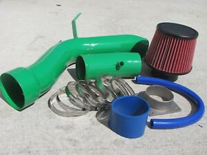 For 2002 2006 Nissan Altima 2 5 2 5l L4 Cold Air Intake Kit Systems Green