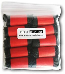 Rolled Gloves Ten Pairs Black Talon Nitrile Gloves Xlarge By Rescue Essential