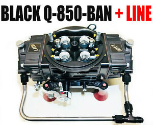 Quick Fuel Q 850 Ban Annular Mech Blow Thru Black Diamond Drag Race W Line Kit