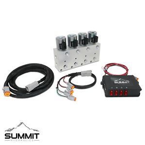 Hydraulic Multiplier Kit 4 Circuit Selector Valve And Switch Box Control
