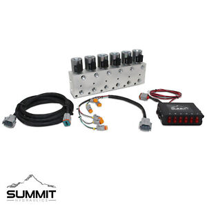 Hydraulic Multiplier Kit 6 Circuit Selector Valve And Switch Box Control
