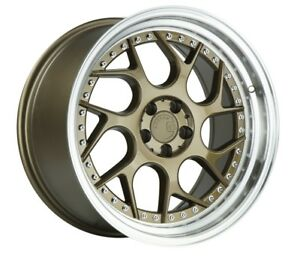 Aodhan Ds01 18x8 5 35 18x9 5 30 5x114 3 Bronze Is300 Rx8 Supra Is250 Sc300