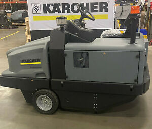 Karcher Km 130 300 Ride On Floor Sweeper Lpg Demo Equipment 1 186 137 0