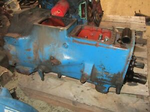 Ford 2000 3000 Tractor 8 Speed Transmission With Live Pto