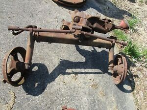 Farmall Ih A Super A Industrial Tractor Square Axle Front End