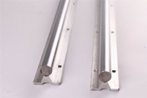 Sbr20 700mm Fully Supported Slide Guide Linear Rail Shaft Rod Cnc 2pcs