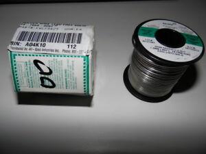 Kester Silver Solder Sn96 5ag03cu 5sld Solid 1 Pound Roll 62 Dia 59 00
