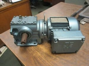 Sew eurodrive Gearmotor S47dt71d4 0 5hp 44rpm Out 230 460v 2 1a New Surplus