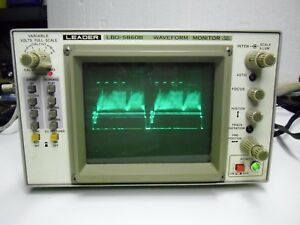 Used Leader Lbo 5860b Waveform Monitor