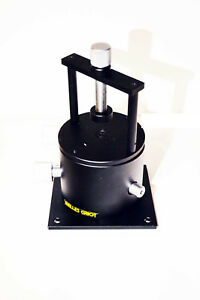 Melles Griot Tip Tilt Rotation Stage Prism Table Platform With Clamp
