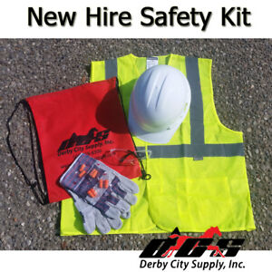 New Hire Kit For Construction Quality Diy Ppe Safety Kit Fast Shipping