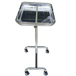 Instrument Hospital Stand Tray Patient Room Double Post trolley