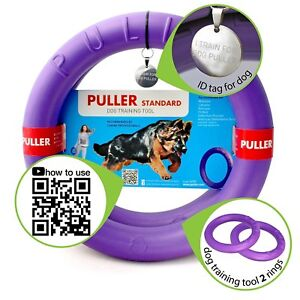 Kind With Healthy Dog Toys Dog Tug Double Training Rings Rubber Durable Floating