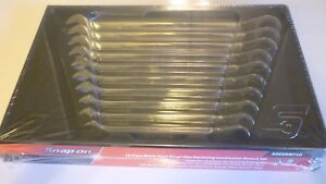 New Snap On 10 Piece Metric Reversible Ratcheting Combination Wrench Set 10 19mm