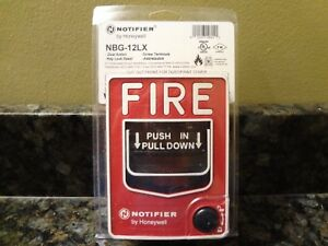 Brand New Notifier By Honeywell Nbg 12lx Pull Station Free Shipping
