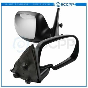 For 1999 2002 Chevy Gmc Chrome Heated Power Side View Mirrors Truck