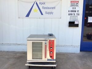 Hobart vulcan 120v Gc02d Half sized Gas Convection Oven 3137