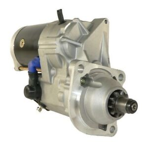 New Starter Fits Bobcat T200 Trenchers 73hp 2001 on Diesel 6667825