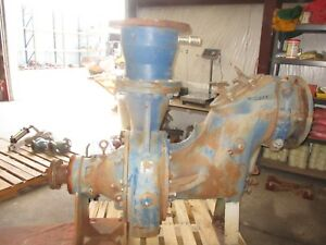 Gorman rupp 112d60 b Centfrifugal Pump 511223j Port 12 Turns By Hand Used