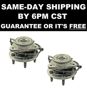 2 Front Hub Bearings 515003 1995 1996 1997 1998 1999 2000 2001 Ford Explorer 4wd