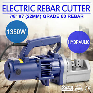 Rc 22mm 1350w 7 8 7 Electric Hydraulic Rebar Cutter Handheld Any Angle Radius