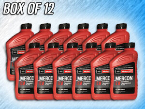 Motorcraft Mercon Lv Automatic Transmission Fluid Xt 10 Qlvc 12 Units Quart