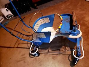 Vintage 1950 S Genuine Taylor Tot Stroller Baby Buggy Walker Rare Version
